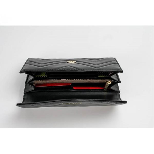 Dámská peněženka Doca 65015 - červená