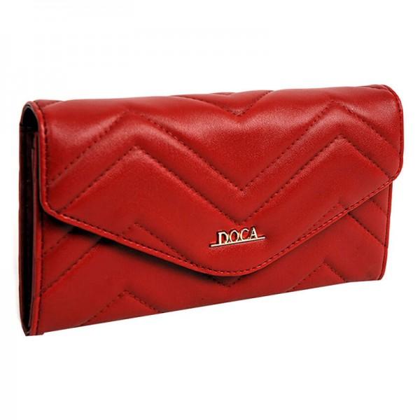 Dámská peněženka Doca 65016 - modrá