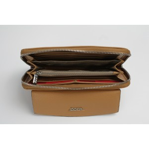 Dámská peněženka Doca 65031 - světle hnědá