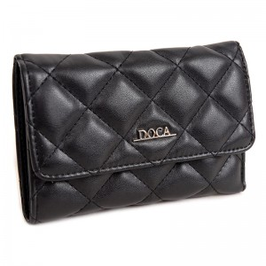 Dámská peněženka Doca 65007 - černá