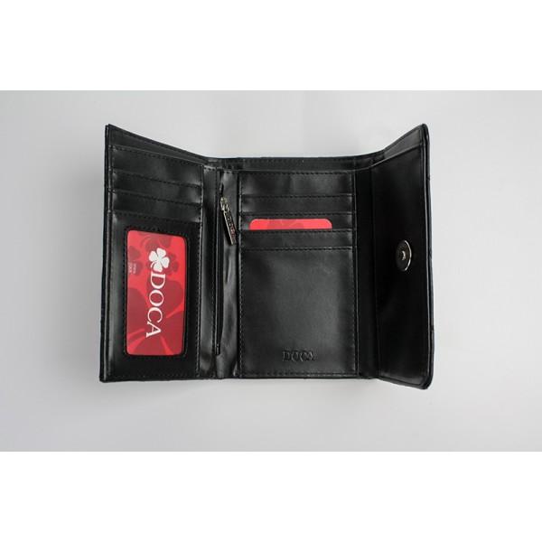 Dámská peněženka Doca 65012 - světle hnědá