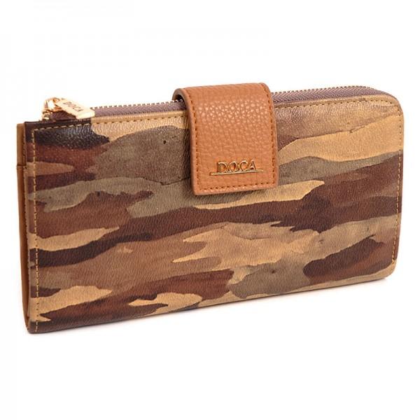 Dámská peněženka Doca 64953 - růžová