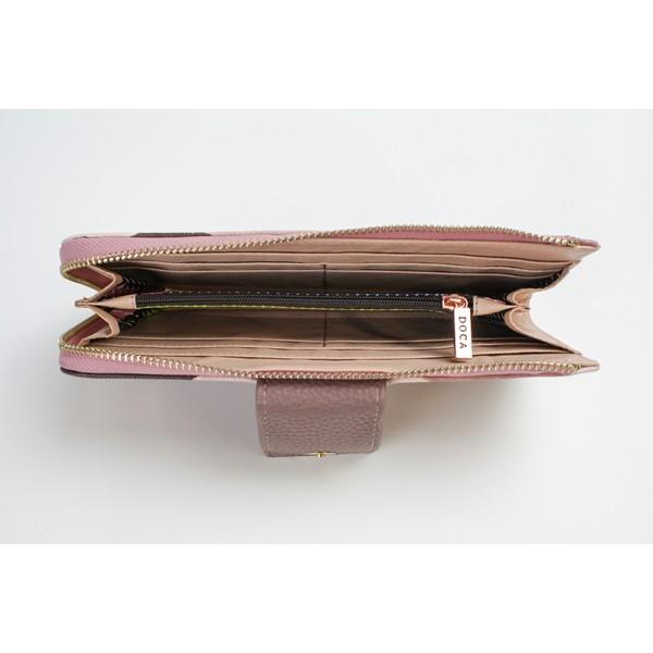 Dámská peněženka Doca 64954 - světle hnědá