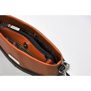 Dámská crossbody kabelka Doca 13547 - červená