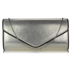 Dámské psaníčko LS Fashion ( LSE00282) - stříbrná