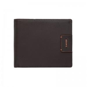 Pánská kožená peněženka Lagen Ramon - hnědá