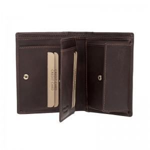Pánská kožená peněženka Lagen Ernesto - hnědá