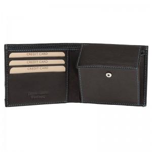 Pánská kožená peněženka Lagen Dominic - černá