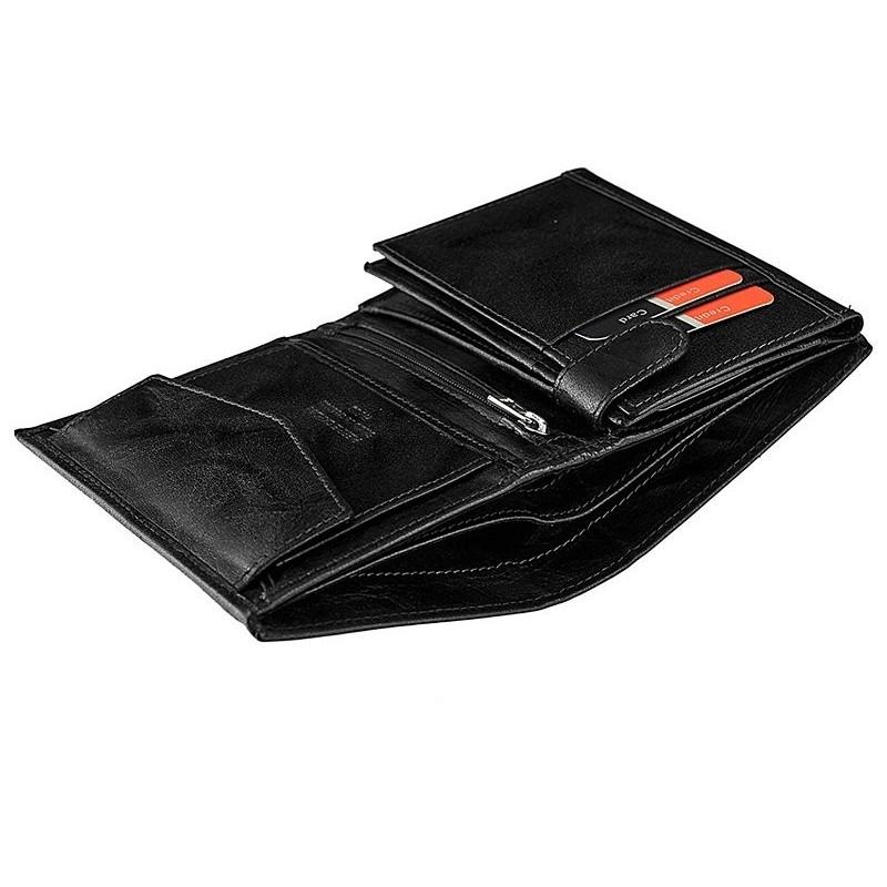 Pánská kožená peněženka Pierre Cardin Laurent - černá