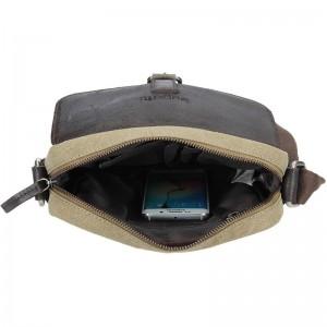 Pánská taška přes rameno Bugatti Forest - khaki