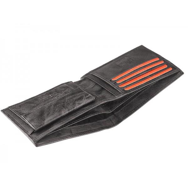 Pánská kožená peněženka Pierre Cardin Tilla - modrá