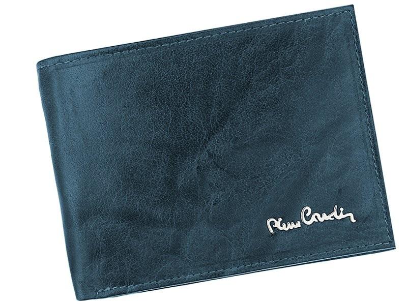 3dfff7cee1 Pánská kožená peněženka Pierre Cardin Tilla - modrá