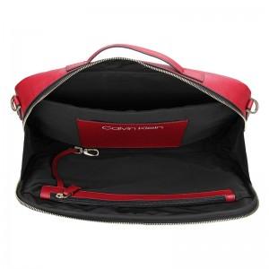 Dámská taška na notebook Calvin Klein Eleonor - černá