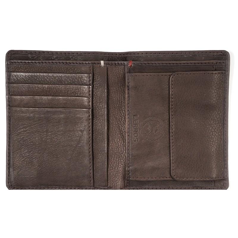Kožená pánská peněženka Lerros Ellis - černá