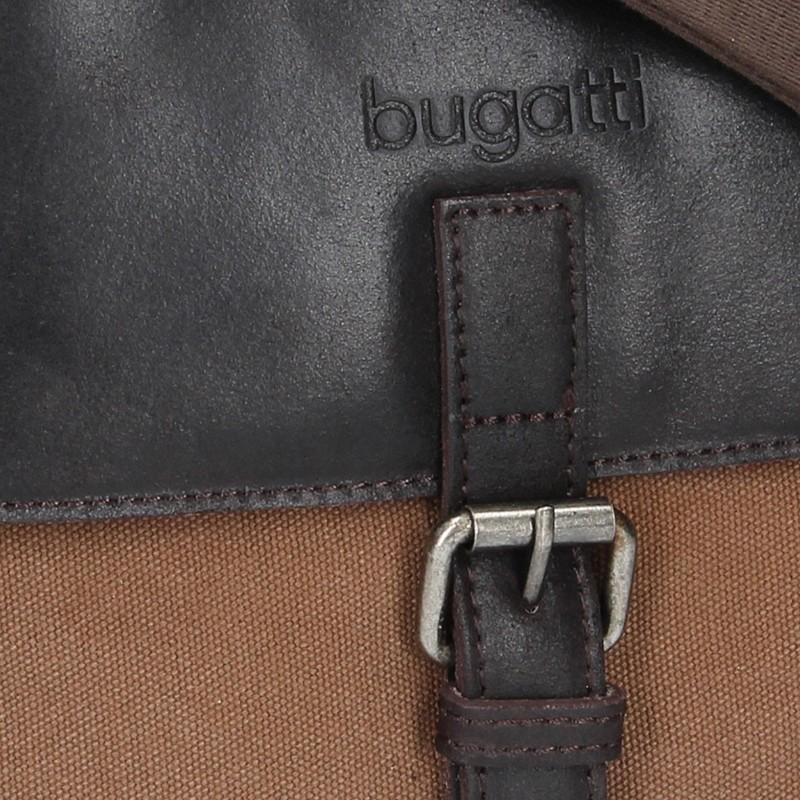 Pánská taška přes rameno Bugatti Forest - tmavě béžová