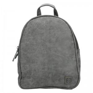 Moderní ekokožený dámský batoh Enrico Benetti 66169 - taupe