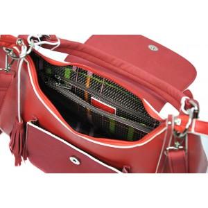 Dámská kabelka Doca 13539 - béžová