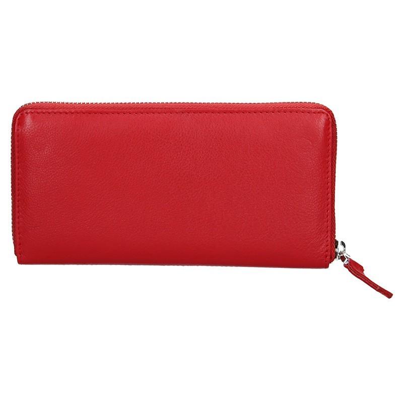 Dámská kožená peněženka Lagen Nicole - černá
