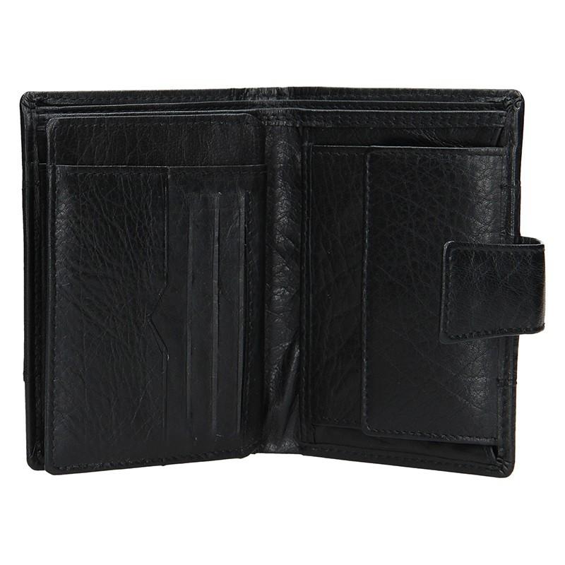 Pánská kožená peněženka Lagen Conor - hnědá