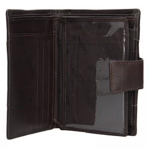 Pánská kožená peněženka Lagen Conor - černá