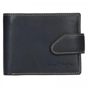 Pánská kožená peněženka SendiDesign Leon - černá