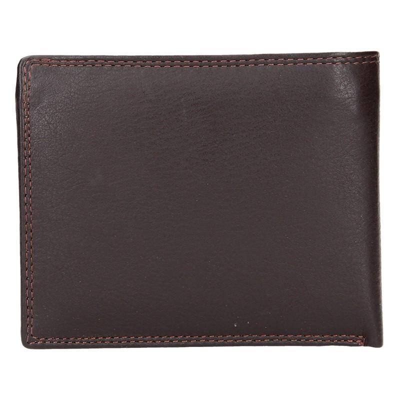 Dámská kožená peněženka SendiDesign Milan - černá