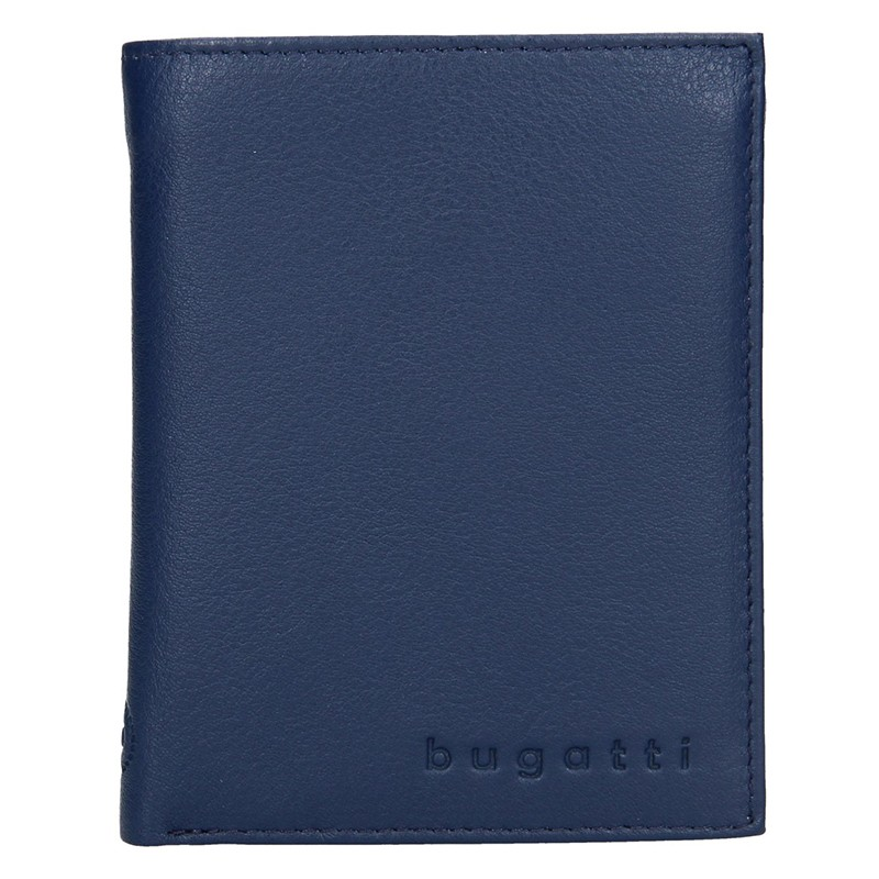 Pánská kožená peněženka Bugatti Armas - modrá bfa96c3918