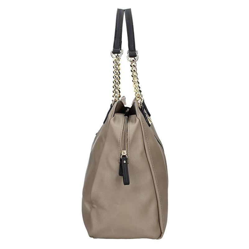 Dámská kabelka Sisley Miriam - béžová