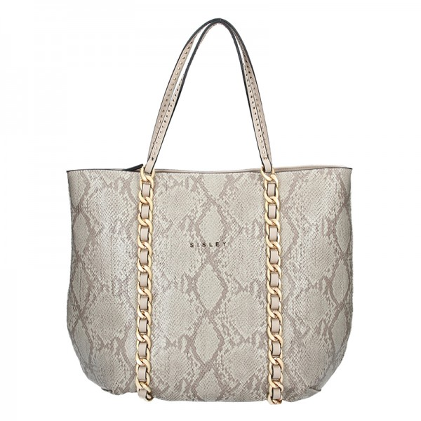 Dámská kabelka Sisley Pavola - šedá