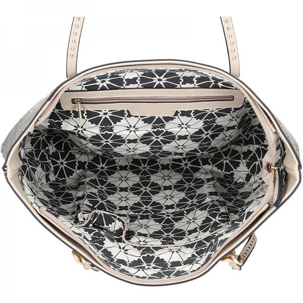 Dámská kabelka Sisley Pavola - béžová