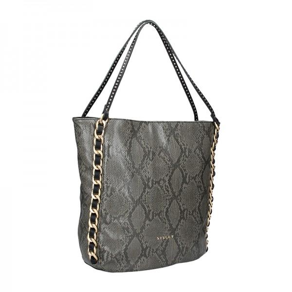 Dámská kabelka Sisley Nicol - béžová