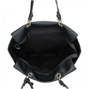 Dámská kabelka Sisley Adel - černá