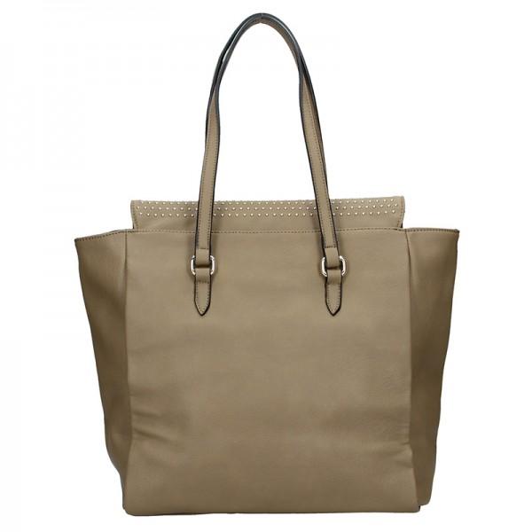 Dámská kabelka Sisley Helen - hnědá
