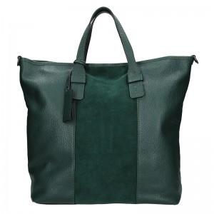 Dámská kožená kabelka Ripani Alba - modrá
