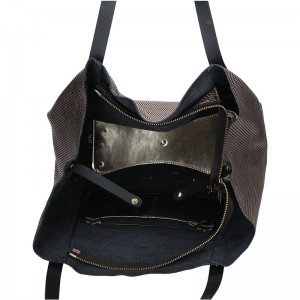 Dámská kožená kabelka Ripani Maya - bronzová