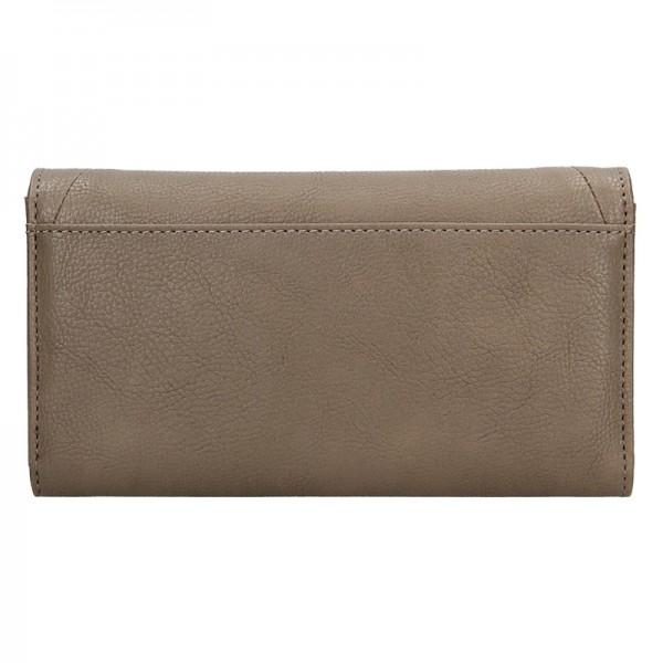 Dámská peněženka Sisley Carol - světle hnědá