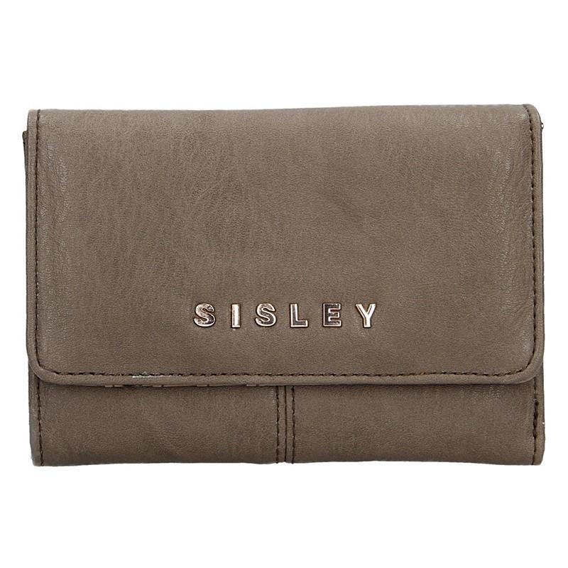 Dámská peněženka Sisley Dione - světle hnědá