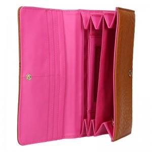 Dámská peněženka United Colors of Benetton Magritte - hnědá