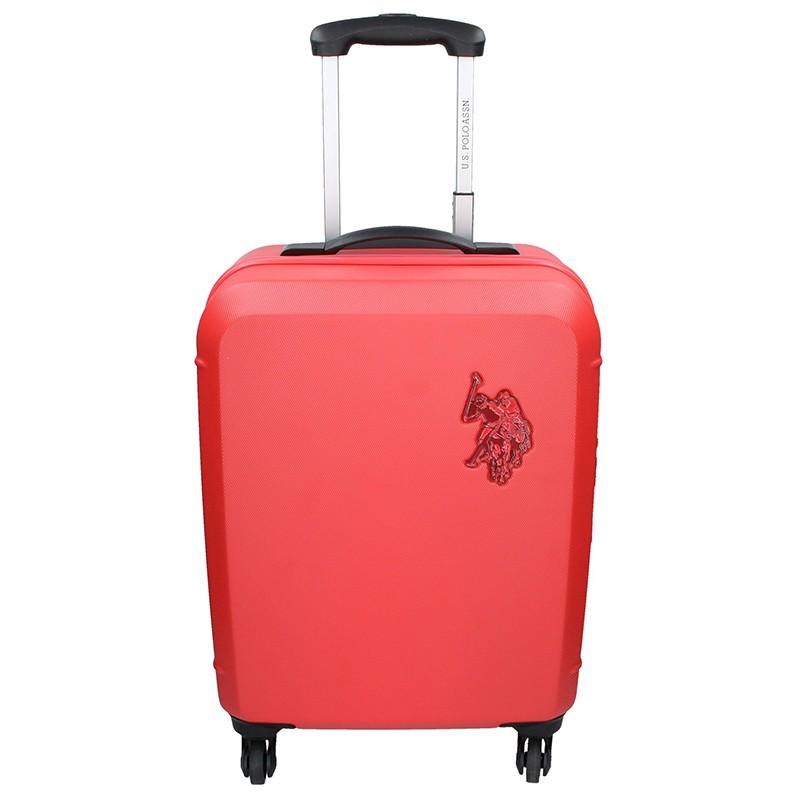Kabinový cestovní kufr U.S. POLO ASSN. AURE - červená 34l