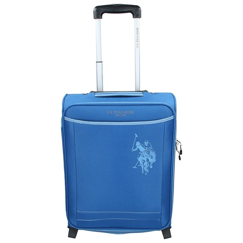 Kabinový cestovní kufr U.S. POLO ASSN. Little - modrý
