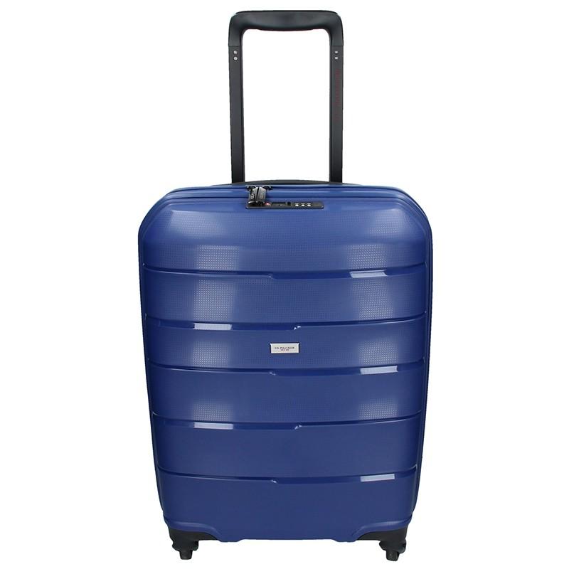 Kabinový cestovní kufr U.S. POLO ASSN. ROUS - modrá 31l