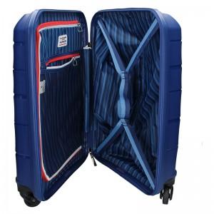 Kabinový cestovní kufr U.S. POLO ASSN. ROUS - modrá
