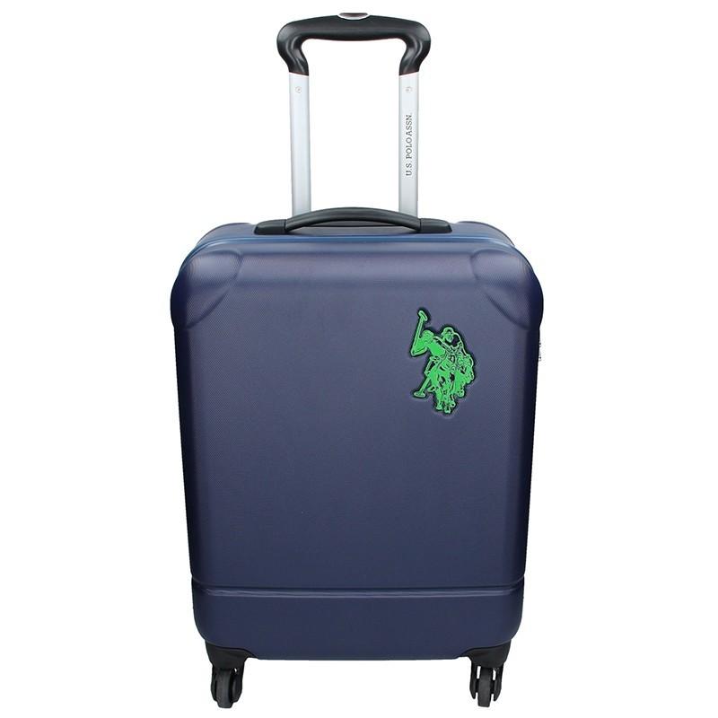 c83d31c7774 Kabinový cestovní kufr U.S. POLO ASSN PALMS - modrá