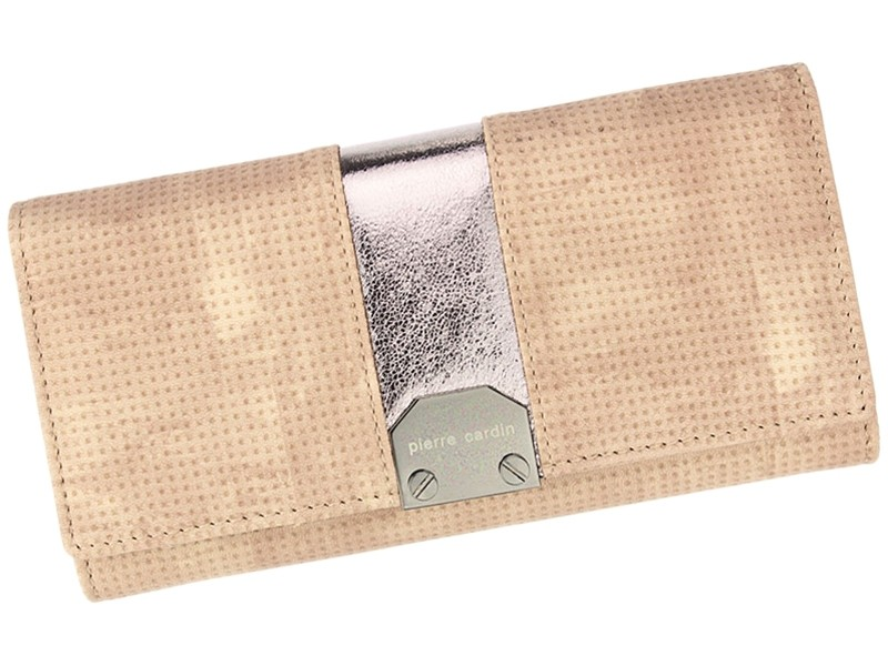 Dámská kožená peněženka Pierre Cardin Karin - růžová