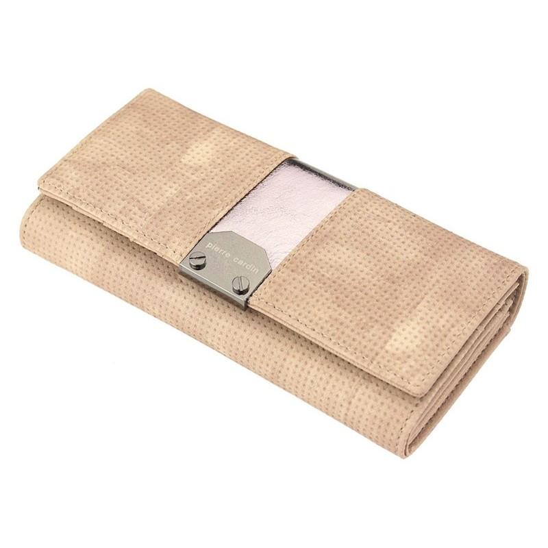 Dámská kožená peněženka Pierre Cardin Karin - písková