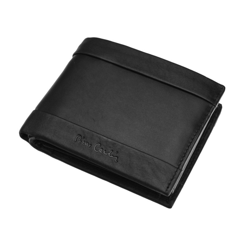 Pánská kožená peněženka Pierre Cardin Palon - hnědá
