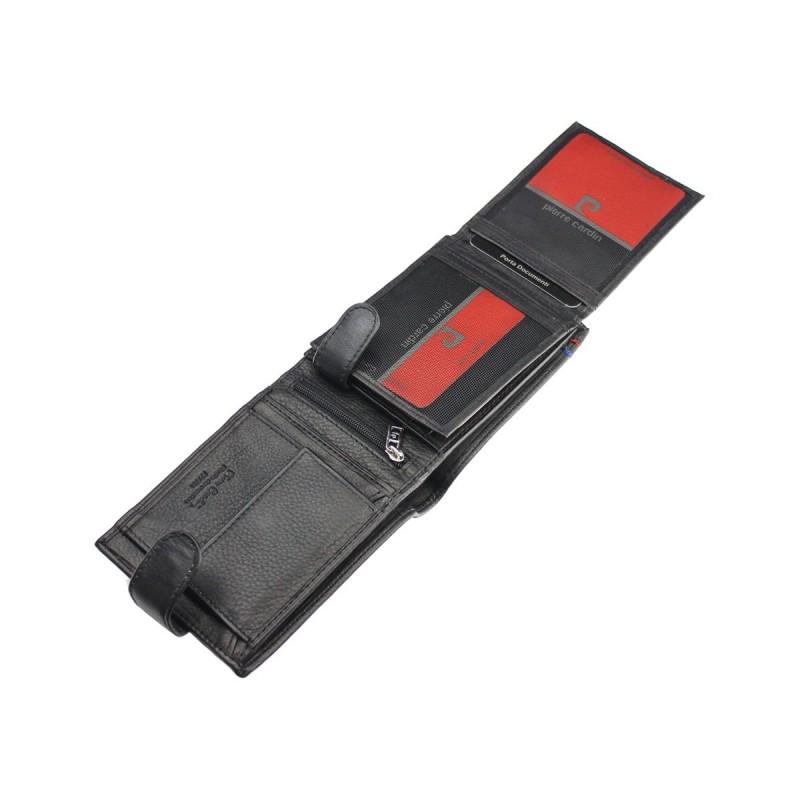 Pánská kožená peněženka Pierre Cardin Gerard - černá