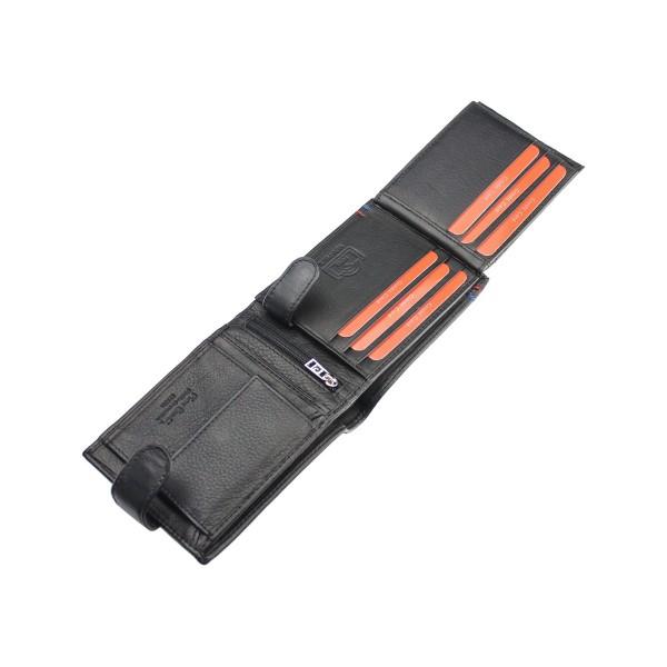 Pánská kožená peněženka Pierre Cardin Claude - černá
