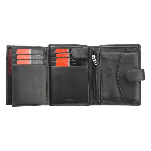 Pánská kožená peněženka Pierre Cardin Franck - černá