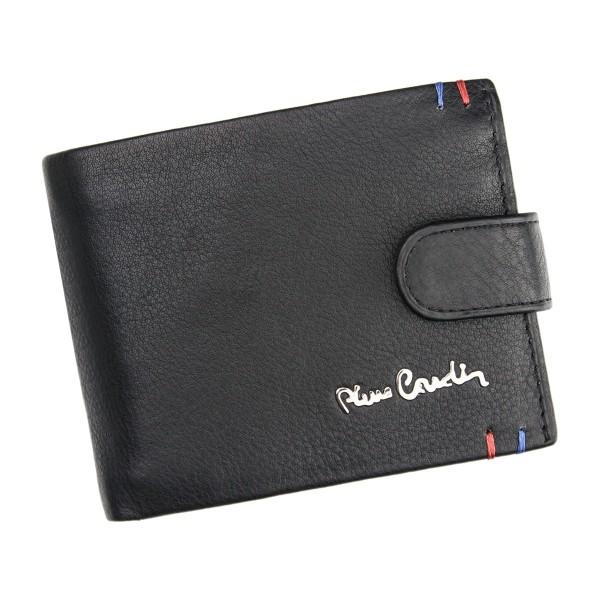 Pánská kožená peněženka Pierre Cardin Joseph - černá